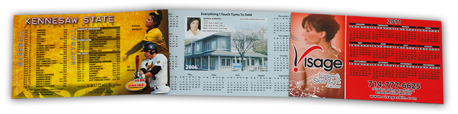 Group of Calendar Magnets